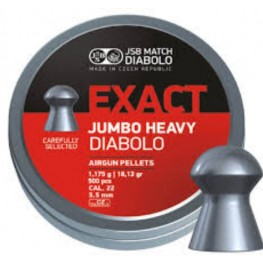 Пульки JSB Diabolo JUMBO EXACT 5.52мм (cal.22) 1.175 г (500 шт.)