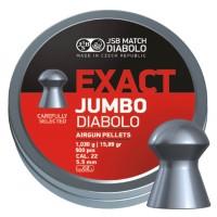 Пульки JSB Diabolo JUMBO EXACT cal .22 (5.52мм) 1.03г.(500шт.)