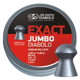 JSB Diabolo JUMBO EXACT cal .22 (5.52мм) 1.03г.(500шт.)
