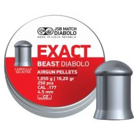 JSB Diabolo EXACT BEAST cal.177 (4.52 мм) 1.05 г (250 шт.)