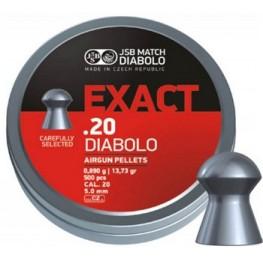 Пульки JSB Diabolo EXACT 5.0мм (cal.20) 0.89г (500 шт.)
