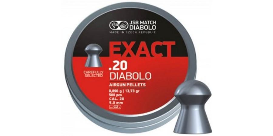JSB Diabolo EXACT 5.0 мм (cal.20) 0.89 г (500 шт.)