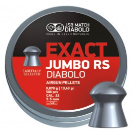 Пульки JSB Diabolo JUMBO EXACT RS 5.52 мм (cal.22) 0.87 г (500 шт.)